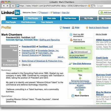 LinkedIn launches apps