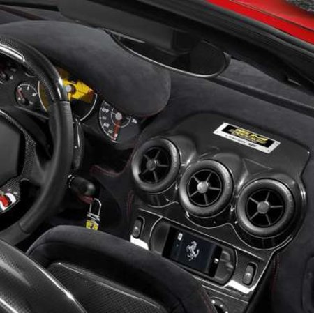 Ferrari gets built-in iPod touch