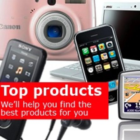 Top Products tool helps you find best gadgets for you