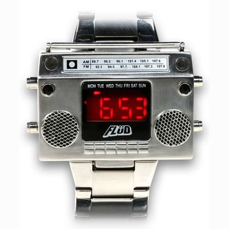 Retro boombox watch launches