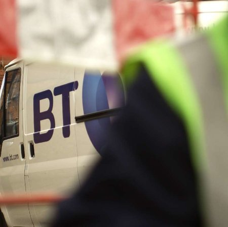 BT's billion pound fibre-based broadband plans at risk