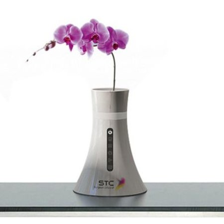STC wireless router disguised as a vase