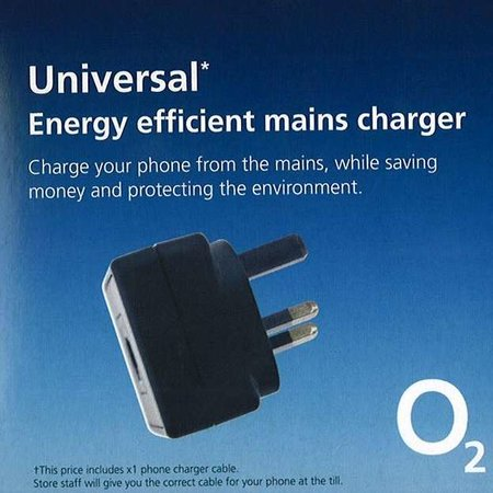 O2 launches green phone charger