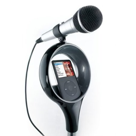 Memorex SingStand iPod karaoke system available