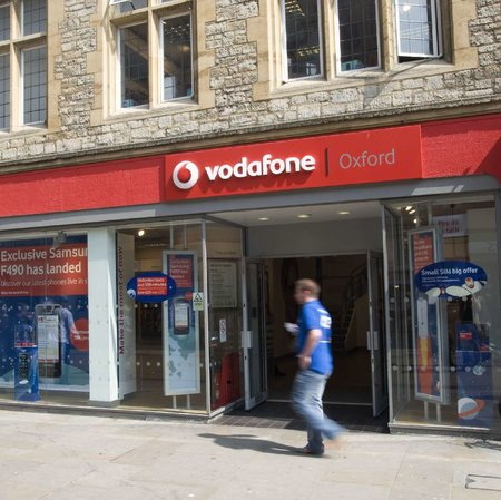 Vodafone announces 18 new stores