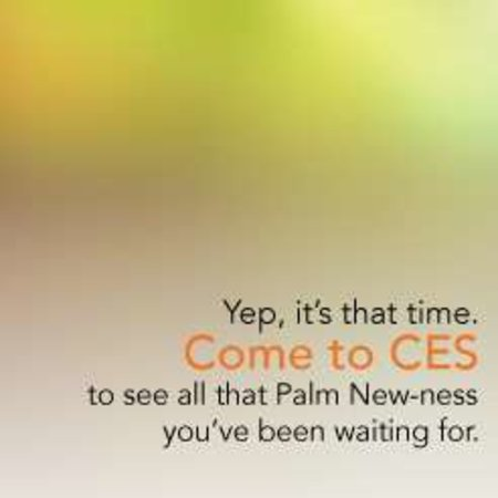 "Palm promises ""new-ness"" at CES"