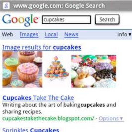 """Major """"Cupcake"""" update for Android announced"""