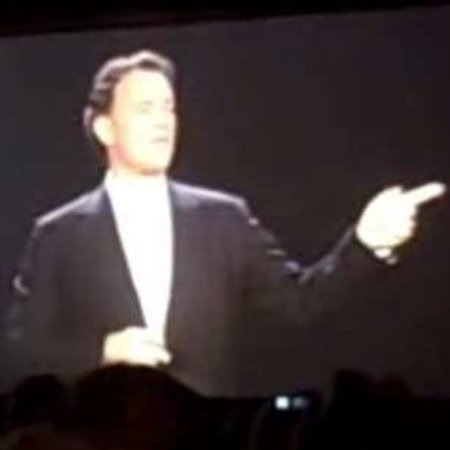 VIDEO: Tom Hanks' disruptive CES appearance for Sony