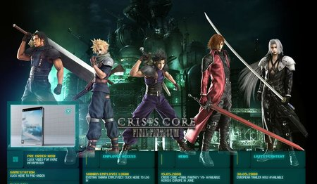New Final Fantasy website goes live