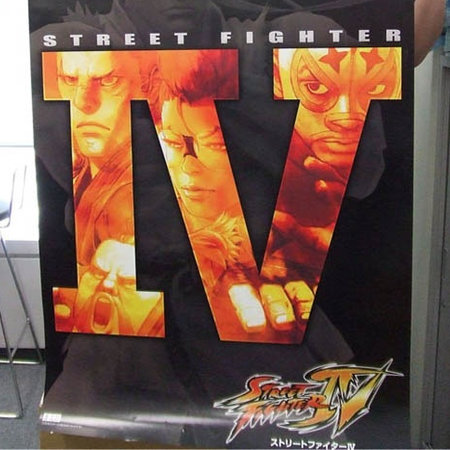 New Street Fighter IV publicity posters