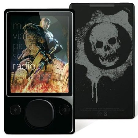 Microsoft releases Gears 2 themed 120GB Zune