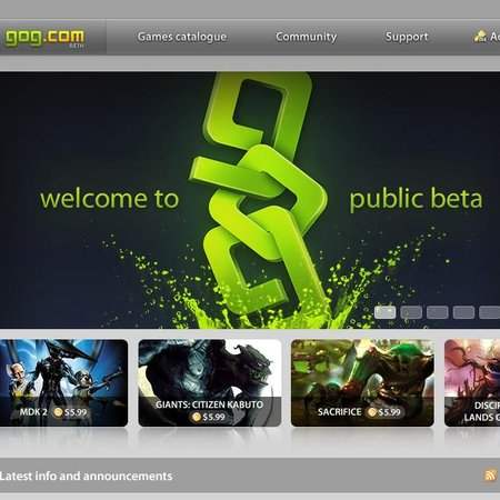 GOG.com launches public beta