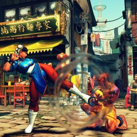 Street Fighter IV dated for UK