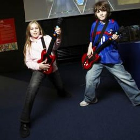 Music games inspiring UK children to learn real instruments