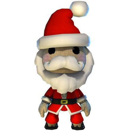 Free Santa LBP costume in PlayStation Network update