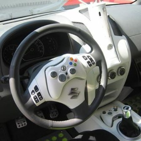 Xbox 360 modded car for ultimate gaming on the go