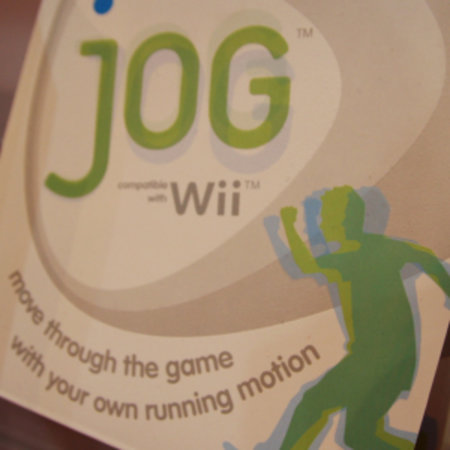 jOG for Wii Fitness accessory debuts at Toy Fair