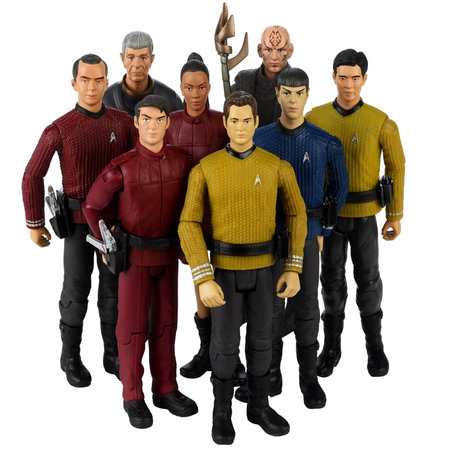 JJ Abrams' Star Trek film figures spotted