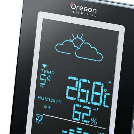 Oregon Scientific launches slimline metal weather station