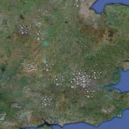 Twitter mashup lets you map #uk