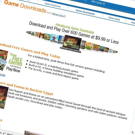 Amazon launches casual games download service