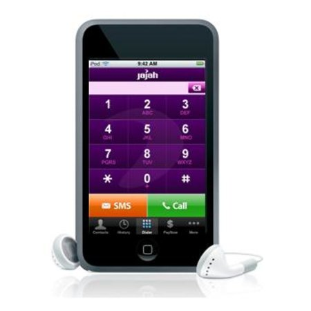 Jajah app turns your iPod touch into a phone