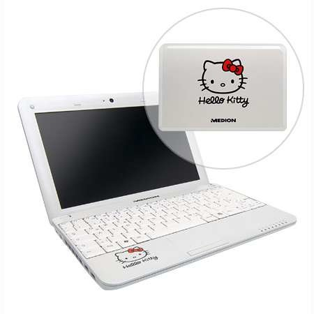 Medion Hello Kitty mini notebook launches in UK