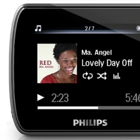 Philips unveils GoGear Ariaz media player