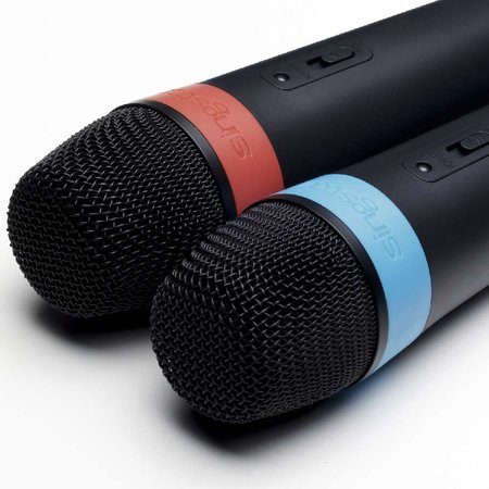 Sony announces new wireless SingStar microphones