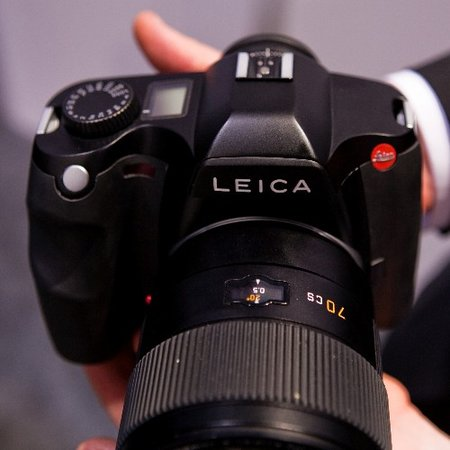 Leica S2 DSLR digital camera