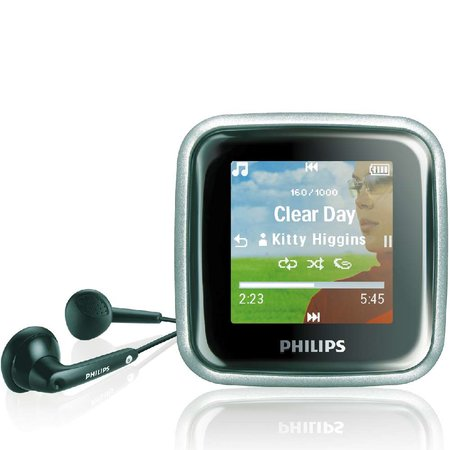 Philips GoGear Spark MP3 players launch