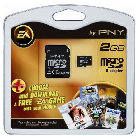 "PNY launches 2009 ""EA by PNY"" microSD card"