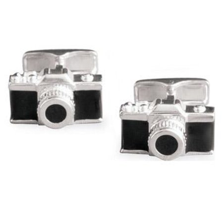 Camera cufflinks bring some geek chic to your outfit
