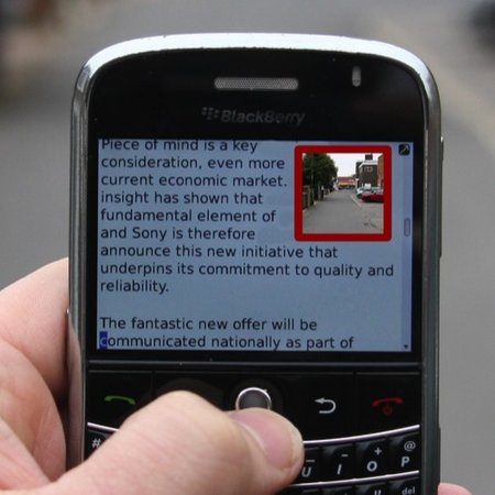 TXT'N'WALK app lets you text and walk - photo 1