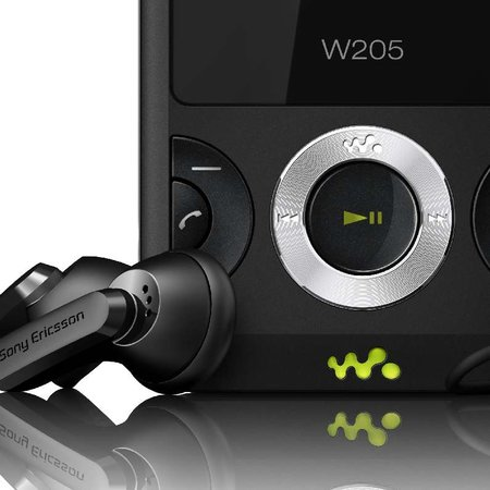 Sony Ericsson W205 Walkman phone announced