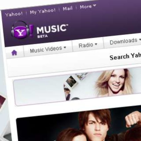 "Yahoo announces ""Artist Pages"""