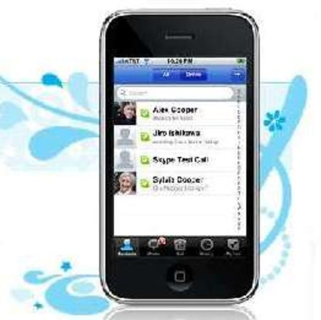 Skype iPhone app downloaded 2.8 million times