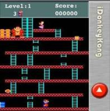iDonkeyKong iPhone game launches