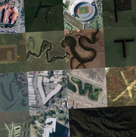 Google Earth alphabet revealed