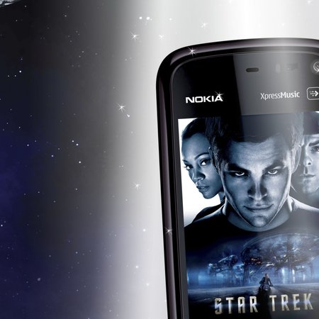 Nokia 5800 Star Trek edition announced