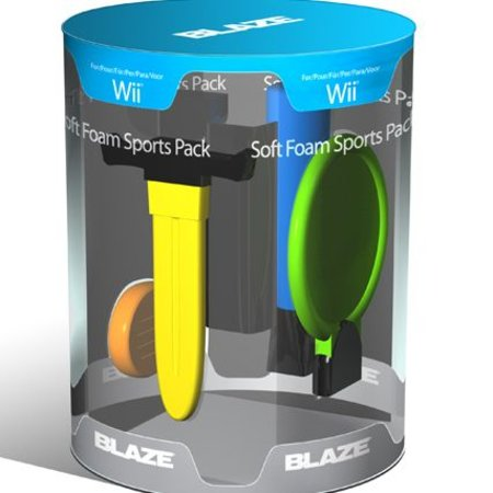 Blaze offers foam Wii accessories