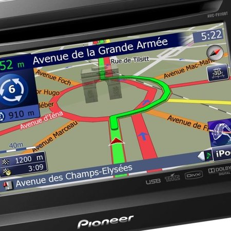 Pioneer announces new built-in GPS multimedia centre