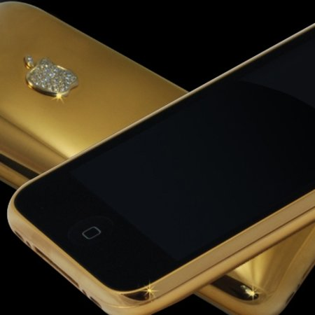 £23k iPhone gets solid gold back