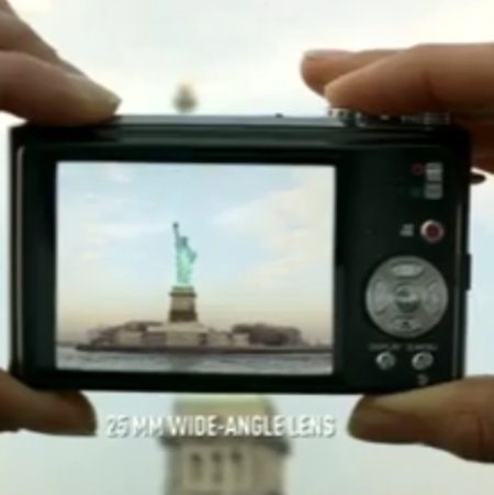 VIDEO: Panasonic's Lumix TZ7 advert