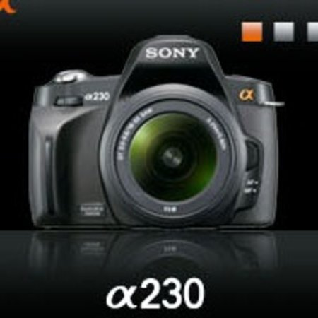 Sony Alpha 230, 330 and 380 cameras leaked