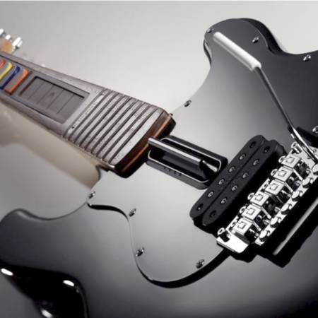 Logitech launches black edition PlayStation Guitar Hero controller