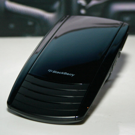 BlackBerry Bluetooth Visor handsfree kit mauled
