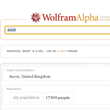 Wolfram Alpha search engine goes live