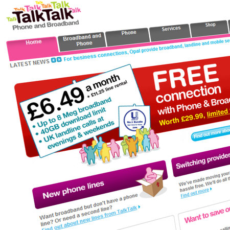 TalkTalk announces Home Mover deal