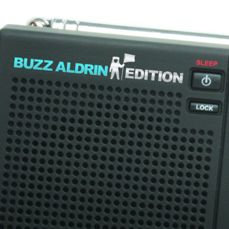 Eton offers Buzz Aldrin edition radio